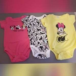 Disney Baby - Minnie Mouse Onesies